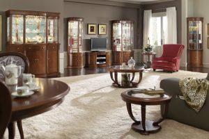 Muebles de toda la vida salones cl sicos en muebles diaz for Muebles diaz