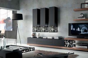 Mueble Apilable Moderno Acebuche.  Mueble Apilable Moderno Lacado Mate Muebles Díaz
