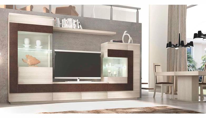 Sal n apilable moderno escalada muebles d azmuebles d az - Salon rustico moderno ...