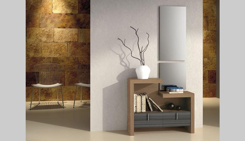 Recibidor moderno nivar muebles d azmuebles d az - Muebles recibidor modernos ...