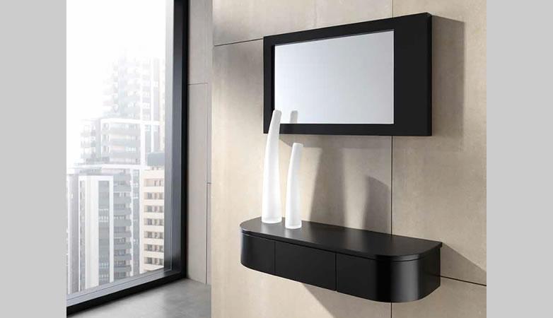 Recibidor moderno pulianas muebles d azmuebles d az - Recibidores pequenos modernos ...