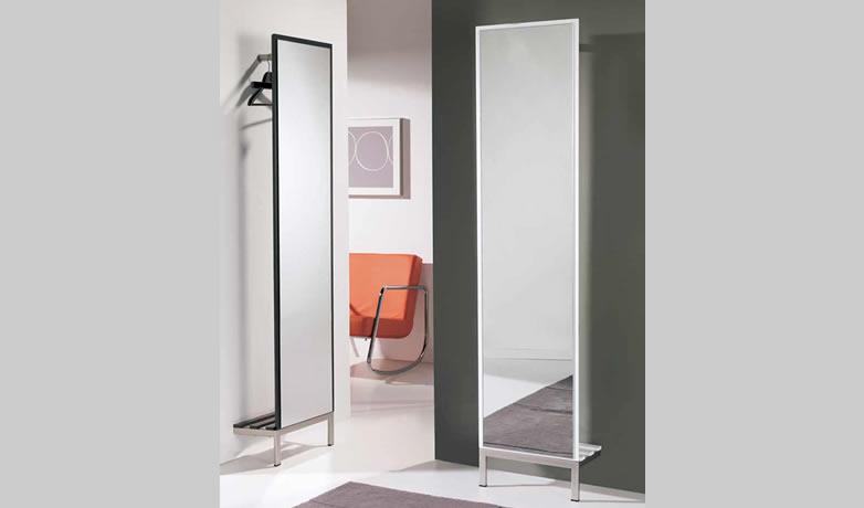 Espejo Recibidor Piñar. Espejo Recibidor Moderno Lacado. Muebles Díaz