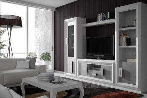 Mueble Apilable Moderno Lacado Rivera. Mueble Apilable Salón Moderno Lacado Muebles Díaz