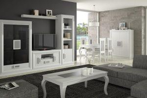 Mueble Apilable Moderno Lacado Prado. Mueble Apilable Salón Moderno Lacado Muebles Díaz