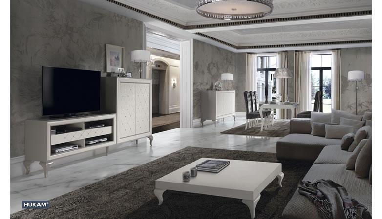Mueble apilable lacado cala muebles d azmuebles d az for Muebles salon con patas