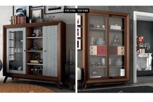Mueble Vintage Gabias. Mueble Rustico Colonial Vintage Patinado Envejecido con Patas Muebles Díaz
