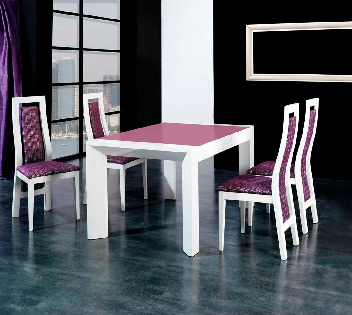 Conjunto mesas y sillas para comedor en muebles d az for Muebles diaz