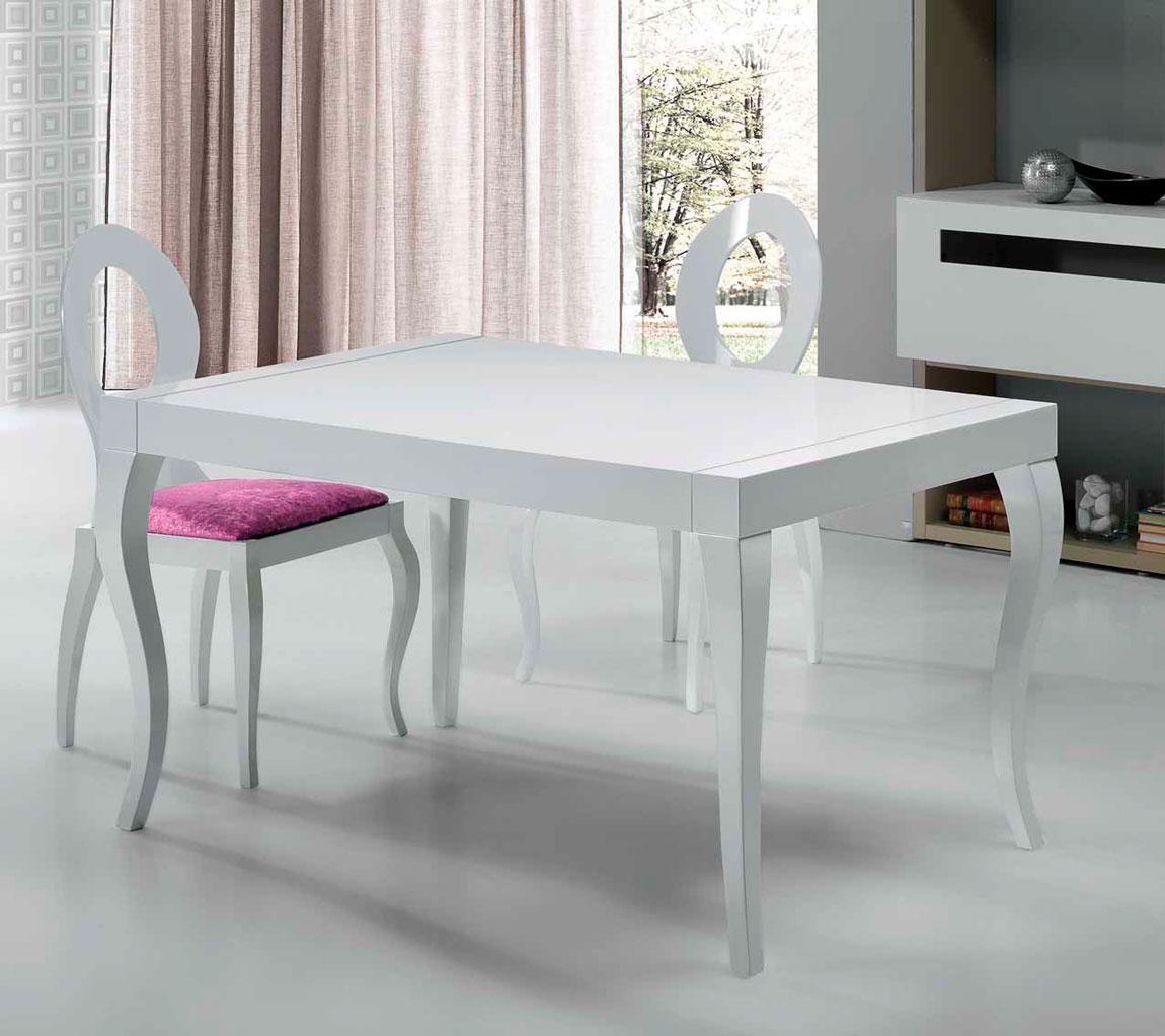 Mesa moderna valdetron muebles d azmuebles d az for Muebles diaz