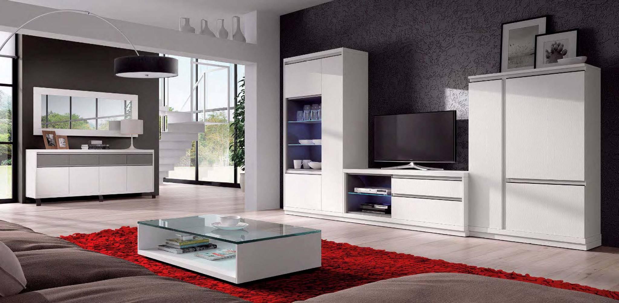 Sal n moderno villafre muebles d azmuebles d az for Salones mezcla clasico moderno