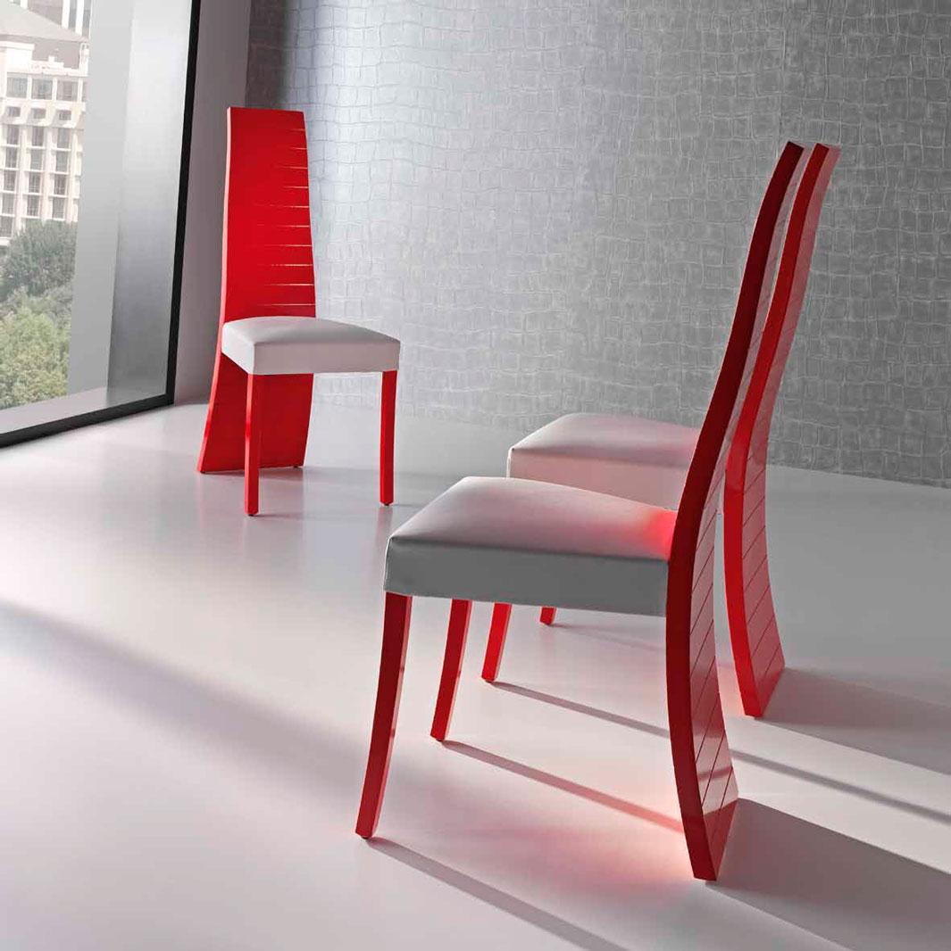Silla moderna otero muebles d azmuebles d az for Sillas coloniales modernas