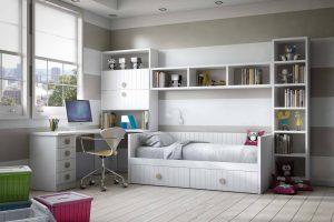 Juvenil  Lacado Sitra. Dormitorio Juvenil Rayado Lacado. Muebles Díaz