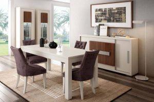 conjunto mesa y sillas latedo - Sillas Y Mesas De Salon