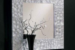 Espejo Mayal. Espejo Cuadrado Lacado Muebles Díaz