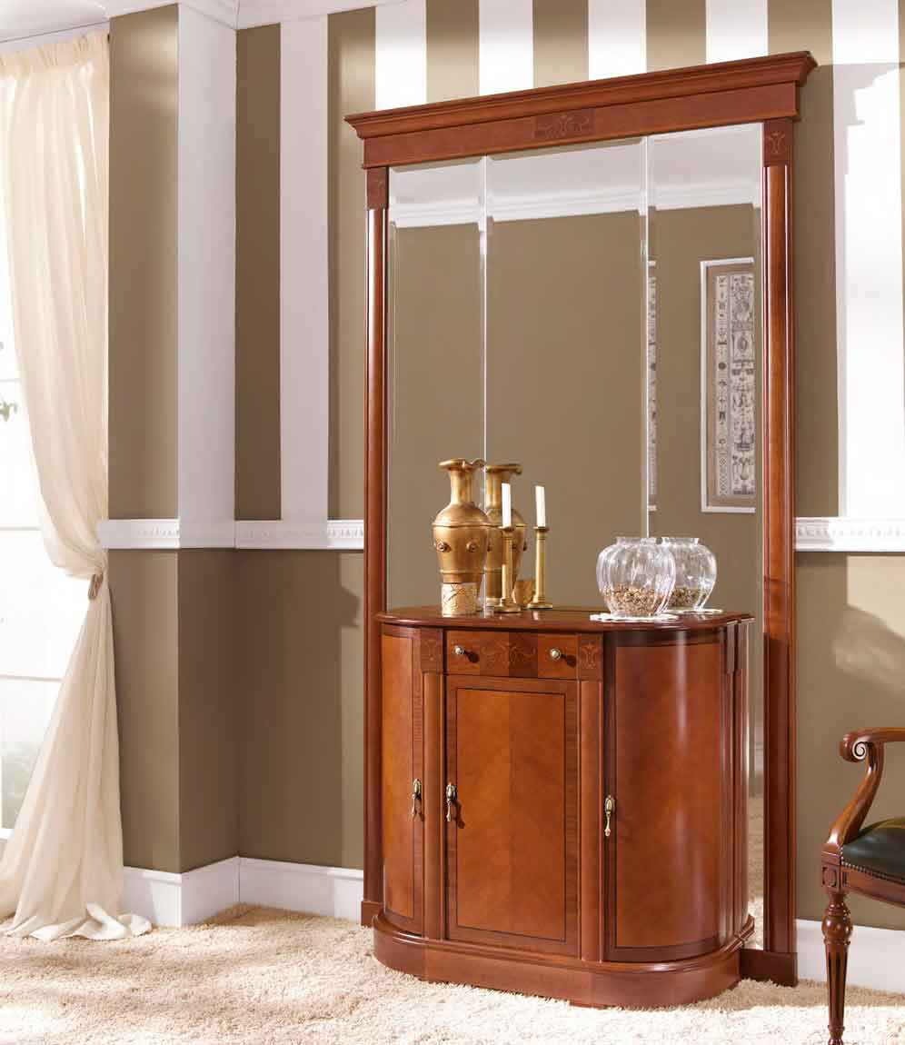 Recibidor cl sico cobre muebles d azmuebles d az for Recibidores clasicos