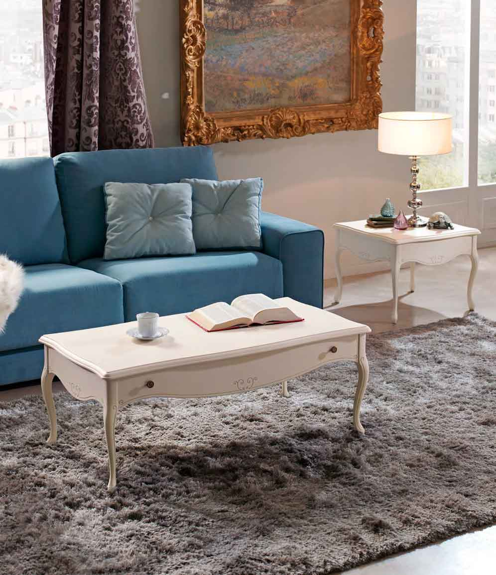 Mesa centro cl sica copardo muebles d azmuebles d az for Muebles diaz