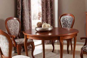 sillas de salón clásicas Mesas De Comedor Clsicas En Muebles DazMuebles Daz