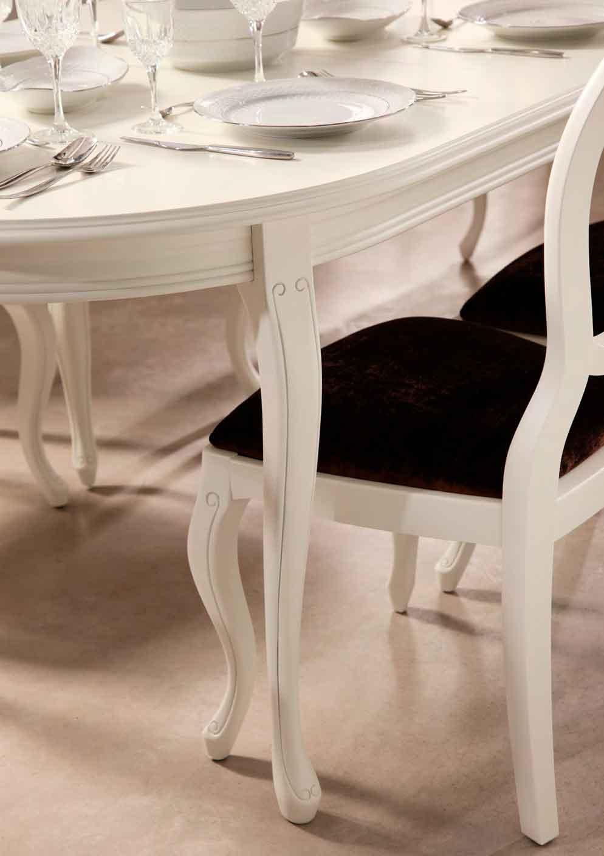 Mesa cl sica bejar muebles d azmuebles d az - Mesa comedor ovalada extensible ...
