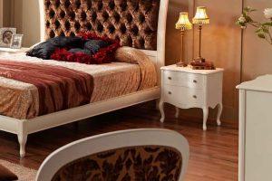 Cabecero Tapizado Sagra. Dormitorio Clásico con Cabezal Tapizado. Muebles Díaz