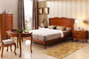 Dormitorio Clásico Barre. Dormitorio Clásico con Bancada Muebles Díaz