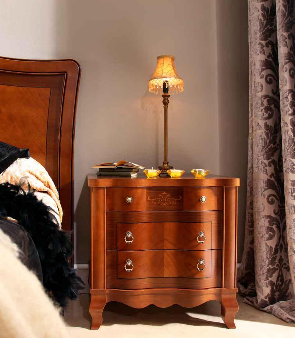 Mesilla casillas muebles d azmuebles d az - Mesillas de noche clasicas ...