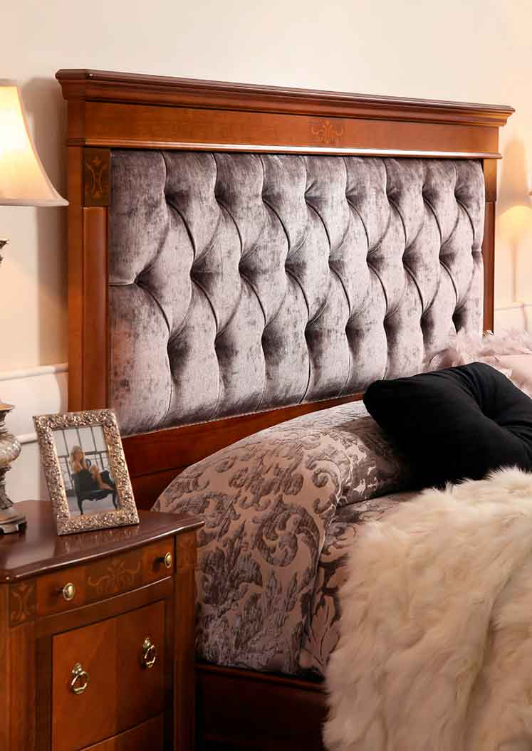 Cabecero tapizado castraz muebles d azmuebles d az - Cabeceros tapizados capitone ...
