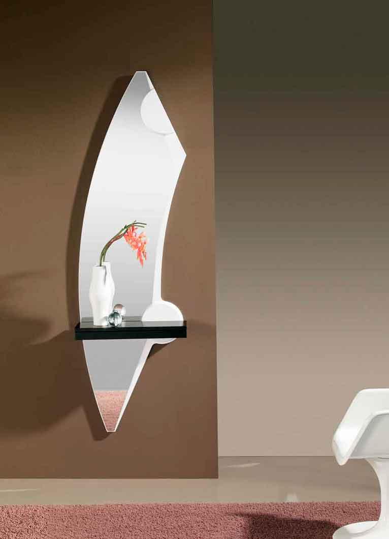 Espejo Ancera. Espejo Recibidor Moderno con Cajón. Muebles Díaz