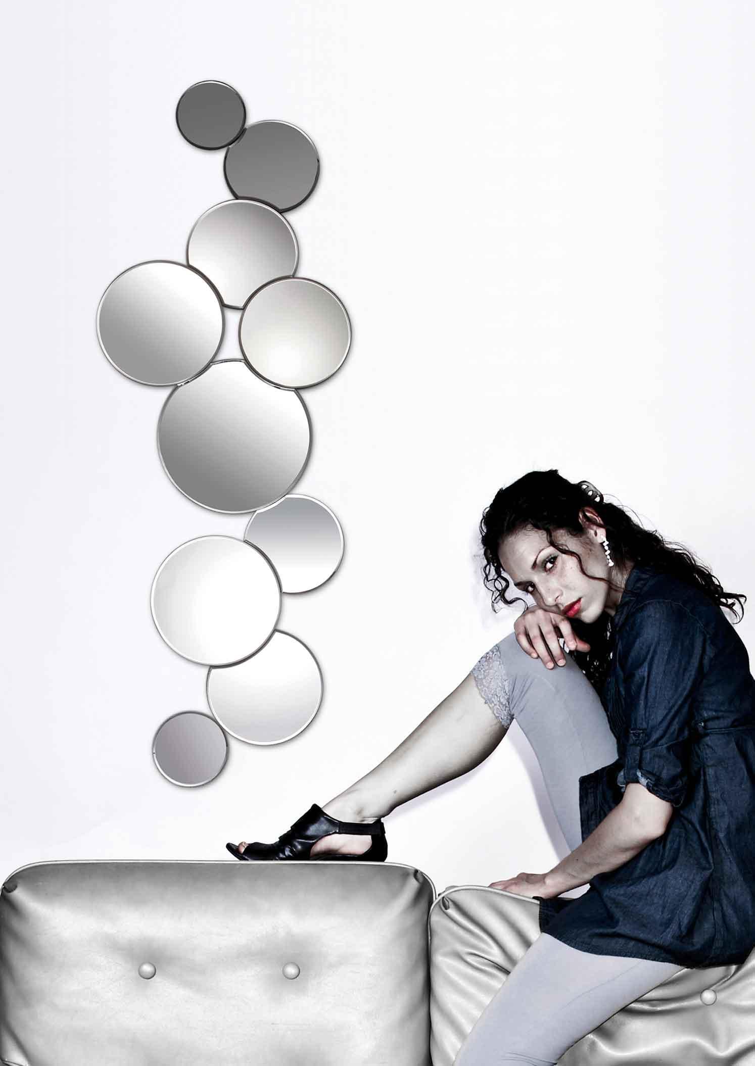 Espejo Leras. Espejo Diseño Formas. Muebles Díaz