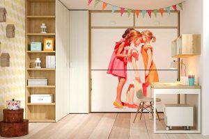 Dormitorio Juvenil Sol Litera Abatible Juvenil Personalizada. Muebles Díaz