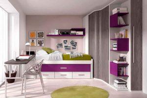 Dormitorio Juvenil Cetus. Dormitorio Moderno Juvenil  Muebles Díaz