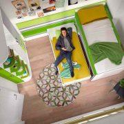 Dormitorio Juvenil Corona. Litera Juvenil Moderna Corredera. Muebles Díaz