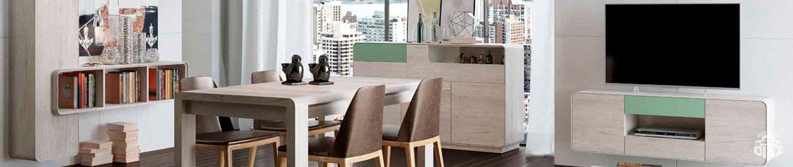 Salones a la ltima todo en muebles modernos para el for Salones mezcla clasico moderno