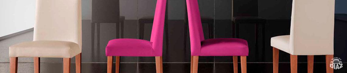 Sillas Modernas Con Diferentes Acabados Y Texturas En