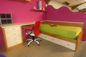 Dormitorio Juvenil Oferta. Oferta Juvenil de Exposición. Muebles Díaz