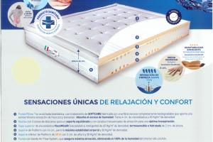 Colchón Elis Medical Colchón con Certificado de Dispositivo Médico Europeo. Muebles Díaz