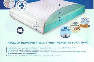 Colchón Moone Medical Colchón con Certificado de Dispositivo Médico Europeo. Muebles Díaz