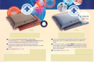 Almohada Memor Medical Almohada con Certificado de Dispositivo Médico Europeo. Muebles Díaz