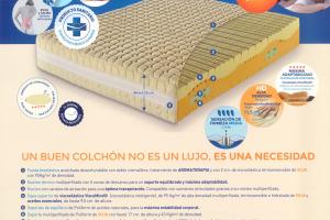 Colchón Gene Medical Colchón con Certificado de Dispositivo Médico Europeo. Muebles Díaz