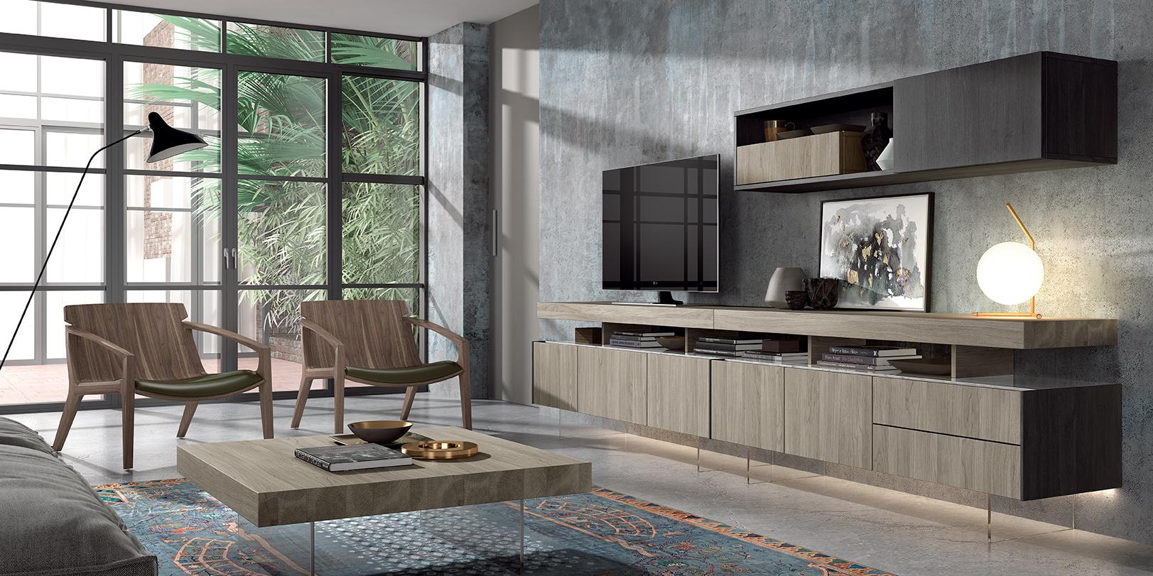 Salones A La Ltima Todo En Muebles Modernos Para El Sal N En  # Muebles Modernos