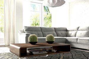 Mesa Centro Mesa Centro Diseño con Patas de Acero. Muebles Díaz