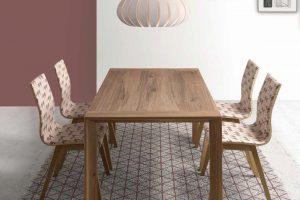 Conjunto mesas y sillas para comedor. En muebles Díaz.Muebles Díaz