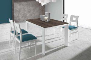 Conjunto Mesa y Sillas Kiero B Conjunto mesa y 4 sillas desde 720 euros. Muebles Díaz