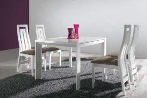 Conjunto Mesa y Sillas Kiero C Conjunto mesa y 4 sillas desde 850 euros. Muebles Díaz