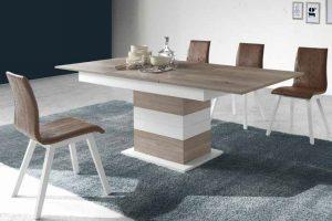 Conjunto Mesa y Sillas Kiero E Conjunto mesa y 4 sillas desde 880 euros. Muebles Díaz