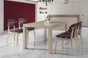 Conjunto Mesa y Sillas Kiero G Conjunto mesa y 4 sillas desde 890 euros. Muebles Díaz