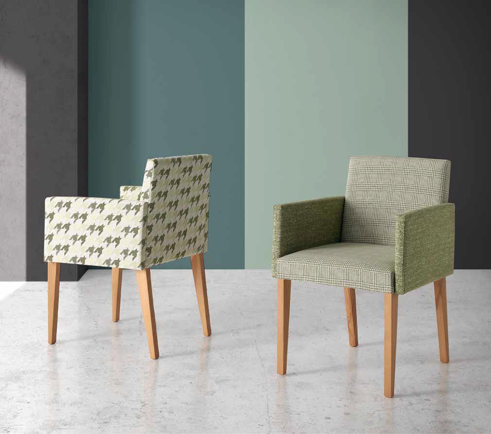 Sillones sillas con brazos tapizados hg robles - Sillones tenerife ...