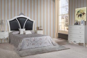 Dormitorio Vintage Santo Tomé. Dormitorio Clásico Vintage con Patas Muebles Díaz