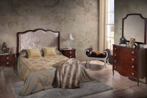 Dormitorio Vintage Dakar. Dormitorio Clásico Vintage con Patas Muebles Díaz