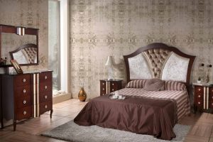 Dormitorio Vintage Belgrado. Dormitorio Clásico Vintage con Patas Muebles Díaz