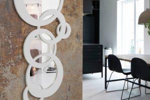 Espejo Moderno Brus C Espejo Moderno Lacado. Muebles Díaz