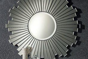 Espejo Moderno Sol. Espejo Marco Cadenas. Muebles Díaz